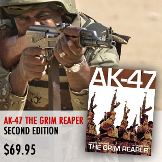 AK-47: The Grim Reaper, Volume II by Frank Iannamico is now available in our store. Click here to pruchase...
